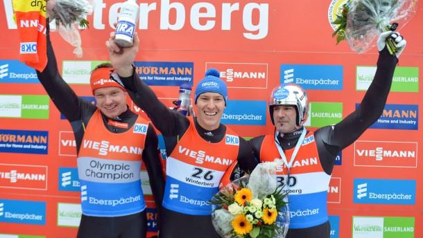 Rennrodel-Weltcup Winterberg 2013