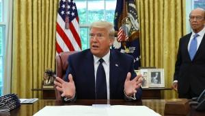 Trump unterzeichnet Verfügung zu Online-Netzwerken