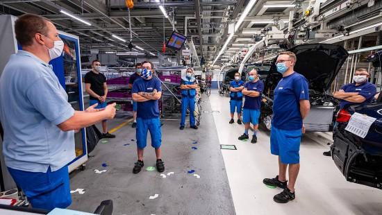 BMW produziert jetzt auch Schutzmasken