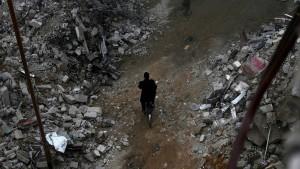 Hungersnot in der umkämpften Stadt Madaja