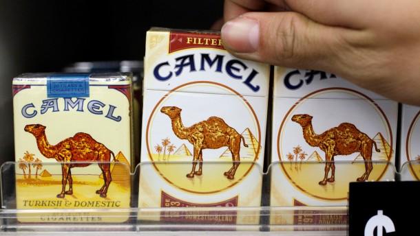 Camel-Hersteller soll Raucher-Witwe 23 Milliarden Dollar zahlen