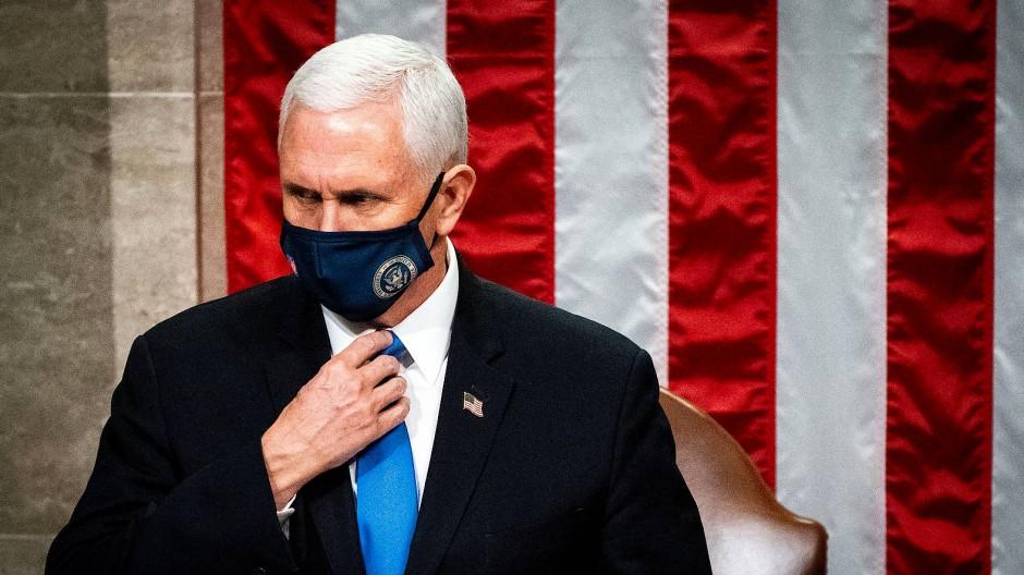 Hat zu sich selbst gefunden: Vizepräsident Mike Pence