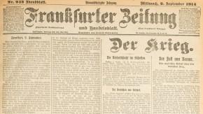 Historisches E-Paper zum Ersten Weltkrieg: Unmoralische Kriegsführung