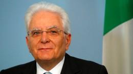 Italiens Präsident weist Salvini in die Schranken