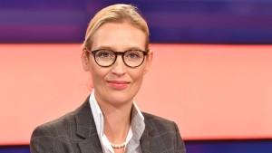 AfD-Kandidatin Weidel verlässt ZDF-Sendung vorzeitig