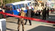 Vier Soldaten bei Anschlag in Kabul getötet