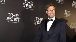Jürgen Klopp zum Welttrainer gewählt
