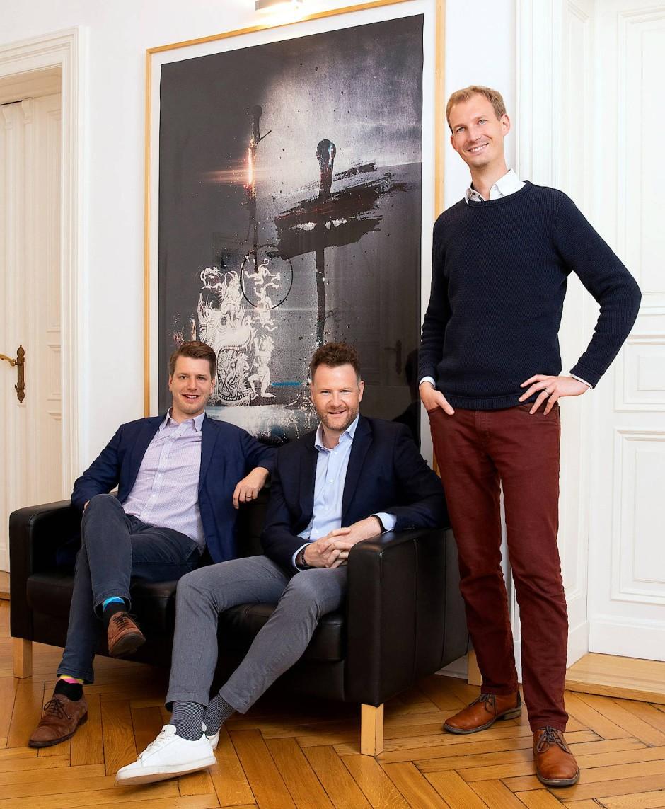 Die Bryter-Gründer: Micha-Manuel Bues, Michael Grupp, Michael Hübl (v.l.)