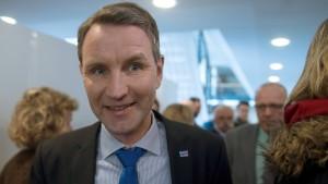 Verfahren gegen Björn Höcke eingestellt