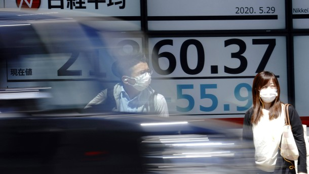 Asiatische Aktien auf Drei-Monats-Hoch