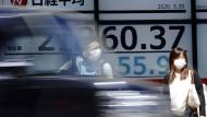 Der Nikkei-Index in Tokio zeigt sich derzeit robust.