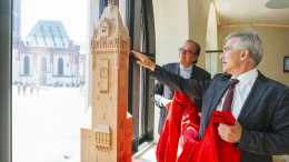 Verein sammelt für Rekonstruktion des Rathausturms