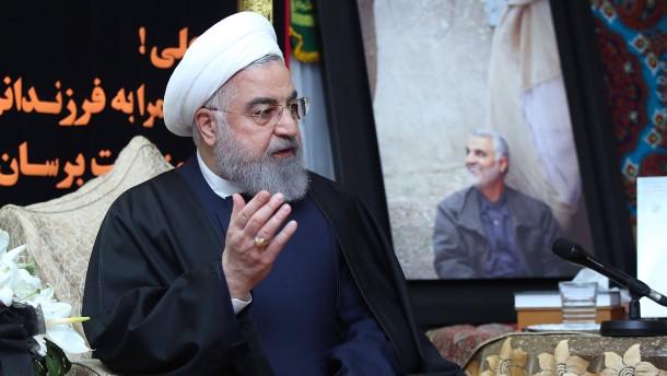 Iran bittet Ukraine um Entschuldigung