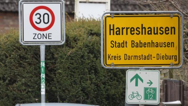 Bomben-Entschärfung in Babenhausen läuft