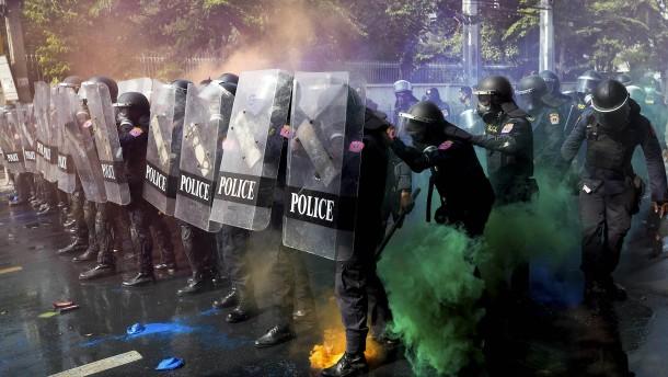 Proteste in Thailand eskalieren