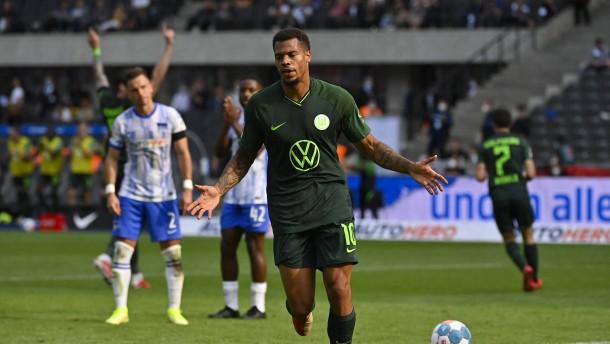 Wolfsburgs Nmecha besiegelt Hertha-Fehlstart