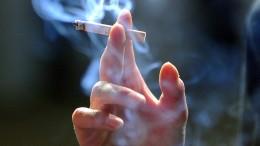 Rauchen die Deutschen weniger?