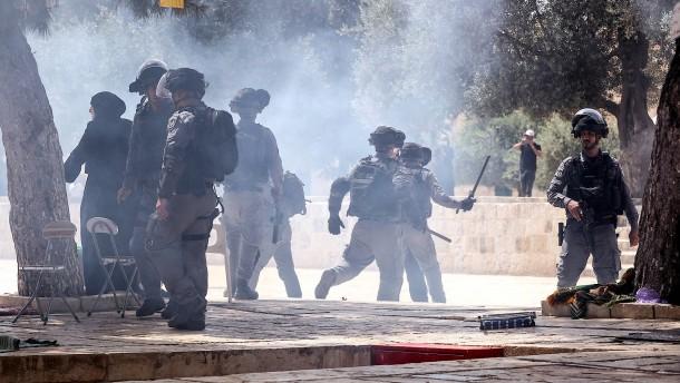 """Tausende Palästinenser feiern """"Sieg"""""""