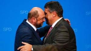 Gabriel reklamiert Amt des EU-Kommissionspräsidenten für Schulz