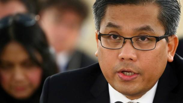 US-Ermittler verhindern Attentat auf juntakritischen UN-Botschafter