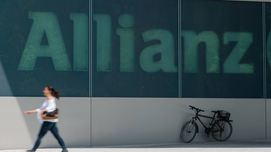 Logo des Allianz-Versicherungskonzerns