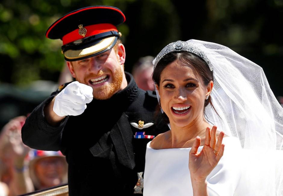 Im Mai 2018 heiratet das Paar.