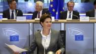Kommissionskandidatin Bratusek fällt durch
