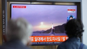 Nordkorea testet offenbar ballistische Rakete