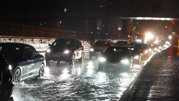 Heftige Unwetter treffen viele Regionen Deutschlands