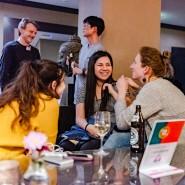 """Home, sweet home: In der Bristol Bar haben die """"International Meetups"""" seit 2018 einen festen Ort gefunden, an den sie bald zurückkehren sollen."""