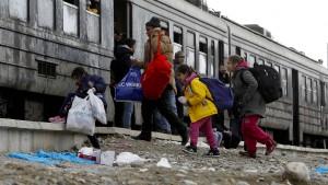 """""""Entschlossen, den Flüchtlingsstrom zu kontrollieren"""""""