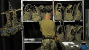 Der Bundeswehr fehlen auch Schutzwesten und Zelte