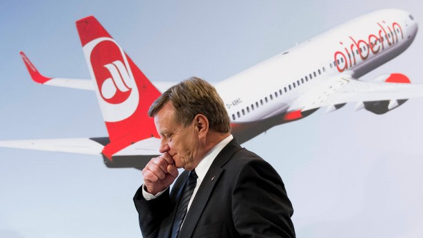 Mehdorn tritt als Air-Berlin-Vorstandsvorsitzender ab