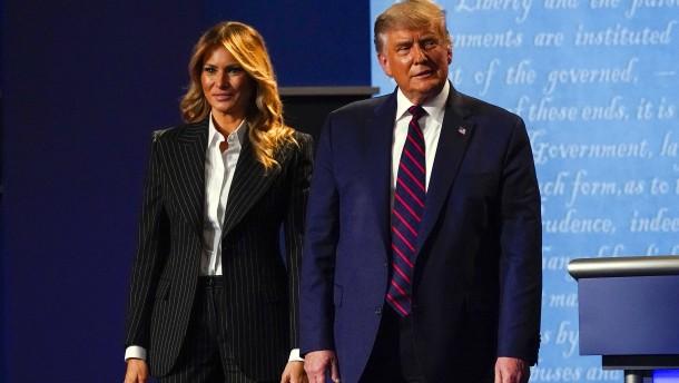 Donald und Melania Trump positiv auf Coronavirus getestet
