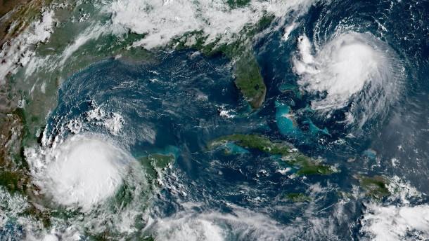 """Hurrikan """"Grace"""" wird vor mexikanischer Küste wieder stärker"""