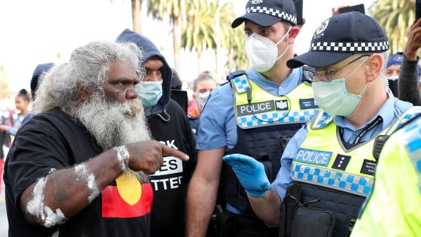 Die Symbole des weißen Australiens