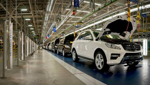 Der Streit zwischen Amerika und China trifft auch Daimler
