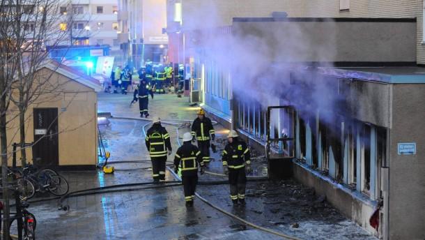 Verletzte bei Brandanschlag auf Moschee