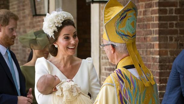 William und Kate taufen Prinz Louis