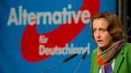 Die stellvertretende Parteivorsitzende und Europaabgeordnete Beatrix von Storch