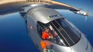 Solarflugzeug erreicht Kalifornien