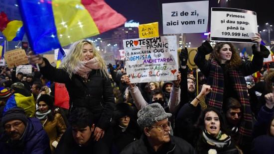 Weiterhin Proteste gegen Korruption in Rumänien