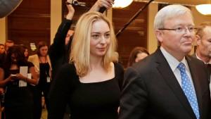 Nun also wieder Kevin Rudd