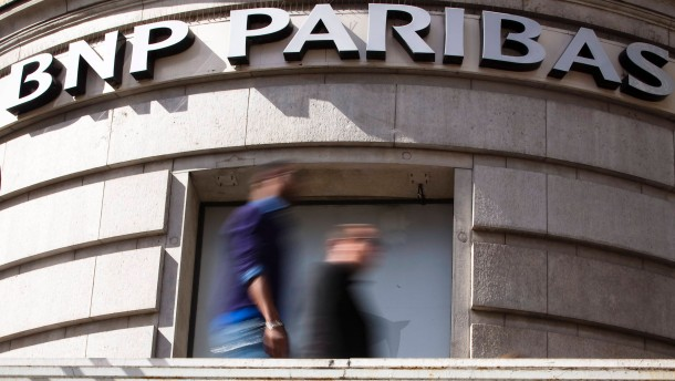 BNP zahlt Rekordstrafe von 8,8 Mrd Dollar