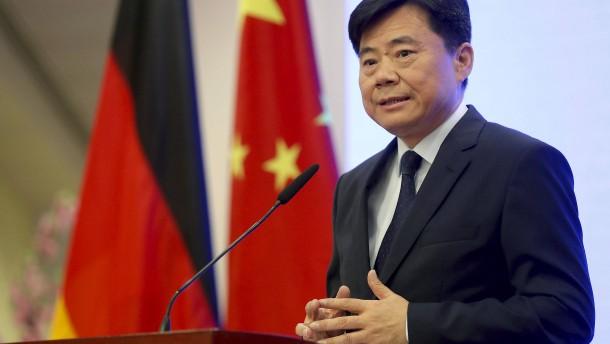 Chinas Botschafter zu Gespräch ins Auswärtige Amt geladen