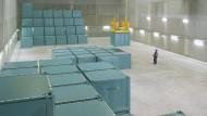 Bestand: Schon jetzt lagert das Unternehmen schwach radioaktive Abfälle auf dem Gelände des ehemaligen Atomdorfs.
