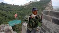 Abschnitt der Chinesischen Mauer wird restauriert