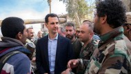 Assad fährt nach Ost-Ghouta