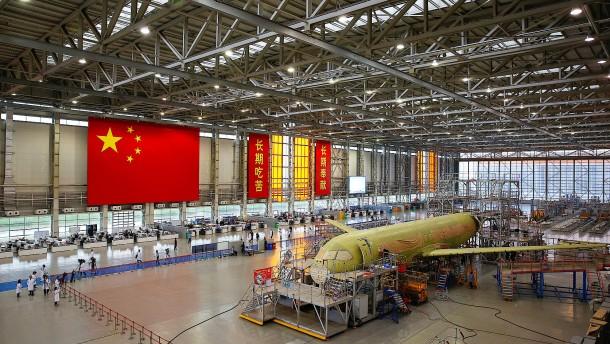Chinas Traum vom Fliegen droht zu platzen