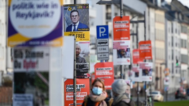 Die SPD an den Rand gedrängt